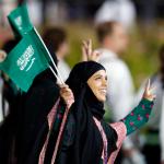 Сара Аттар из Саудовской Аравии, бег на 800 метров