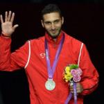 Серебряный призер по фехтованию на шпагах из Египта Алаа Абуль-Касим