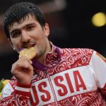 Дзюдоист сборной России Тагир Хайбулаев, дагестанец, чемпион Олимпийских игр в Лондоне в весовой категории до 100 кг